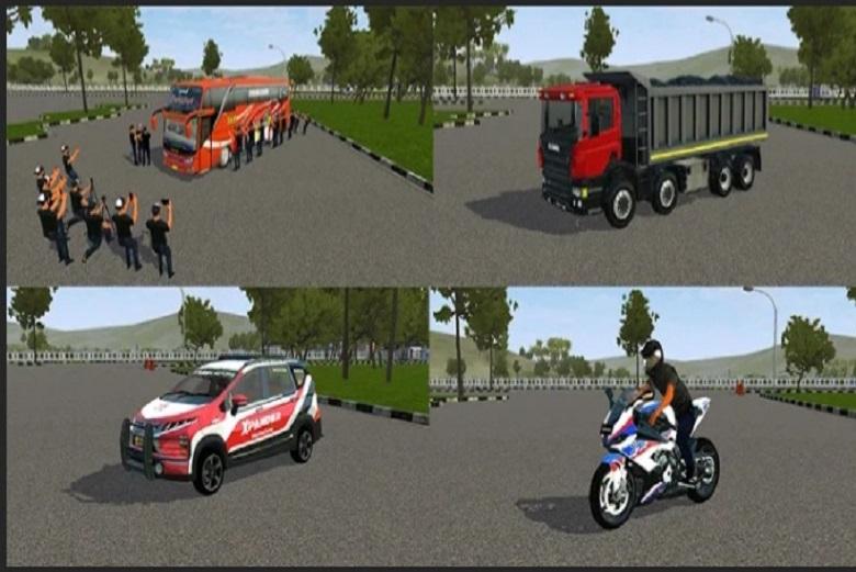 Download Mod Bussid Bus Truck Mobil Motor Bonus Livery Lampuhijau Com