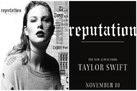 Lagu Reputation Tylor Swift jadi Alum Terlaris Tahun 2017